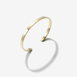 POLISHED SOLID GOLD CUFF