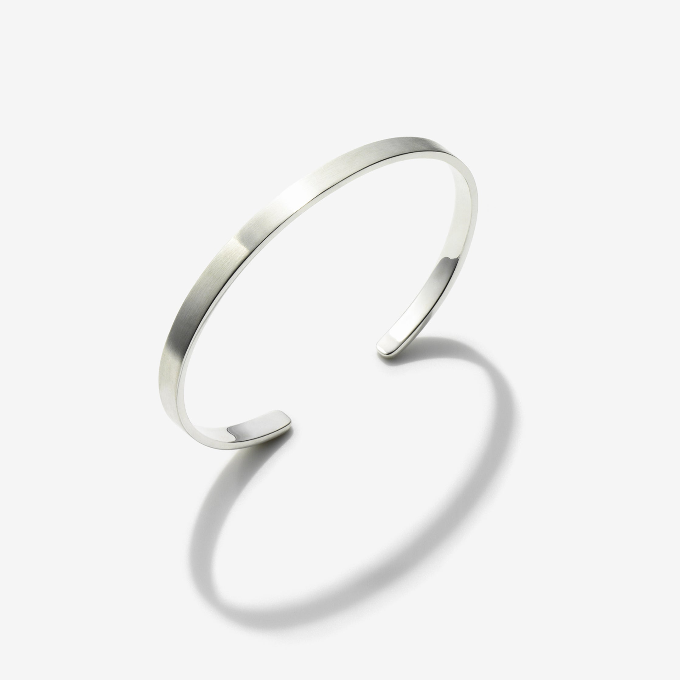 POLISHED STERLING SILVER CUFF