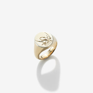 SOLID GOLD CUSTOM SIGNET RING