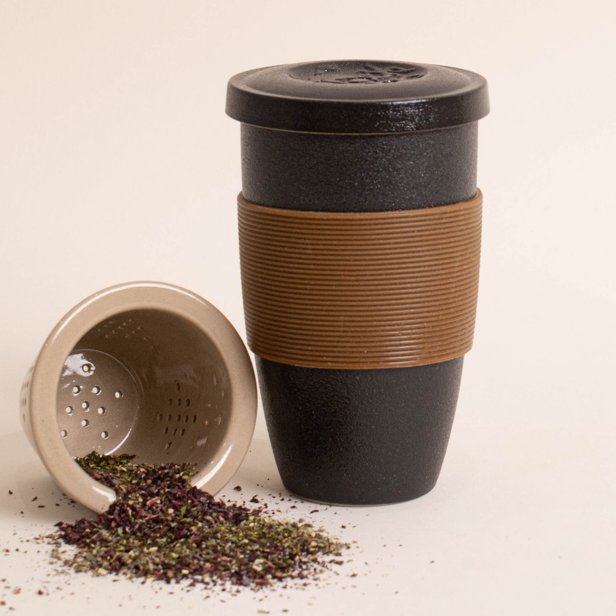 loose leaf tea infuser mug