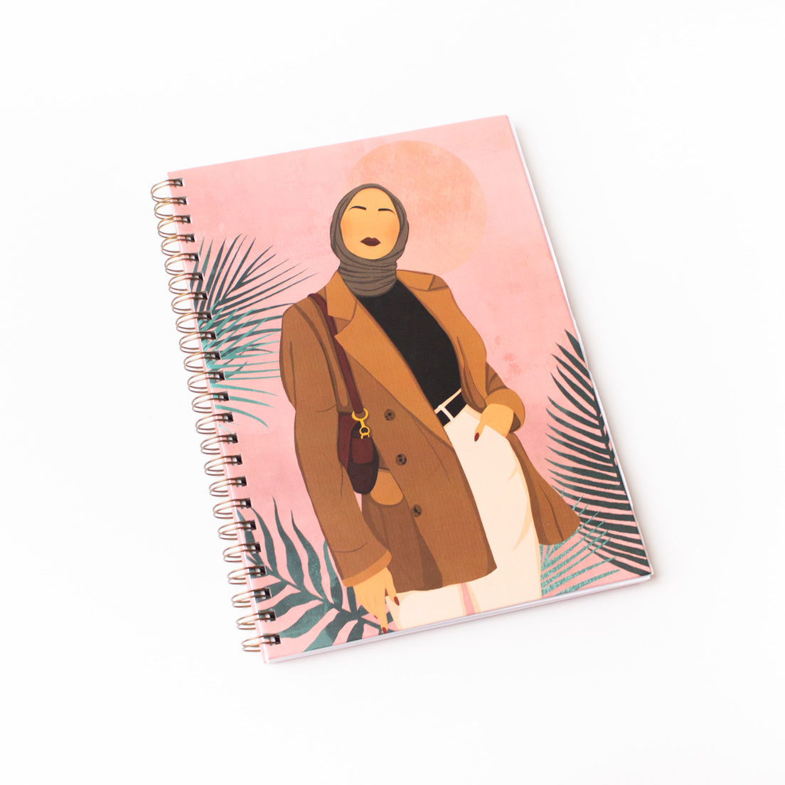 The Modest Girl A4 Hardback Notebook