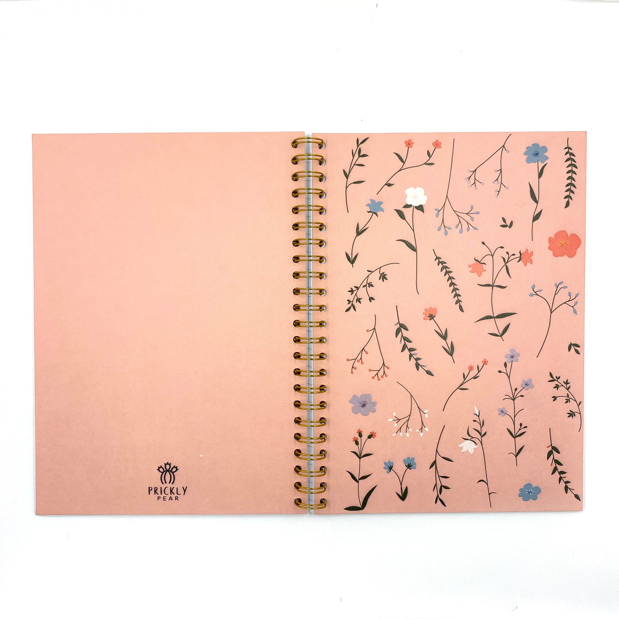 Floral A4 PU Notebook