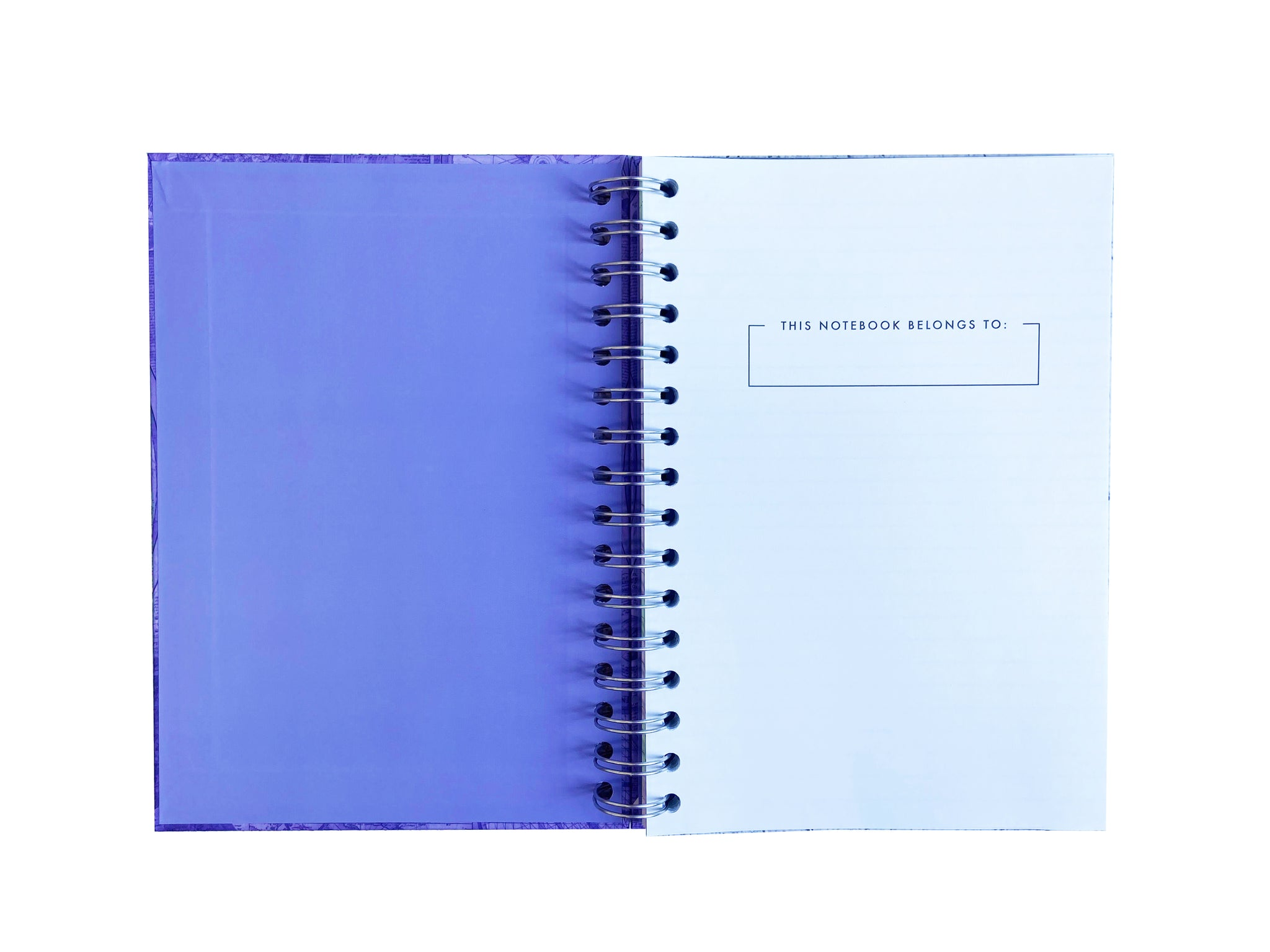 Blueprint Map A5 Hardback Notebook