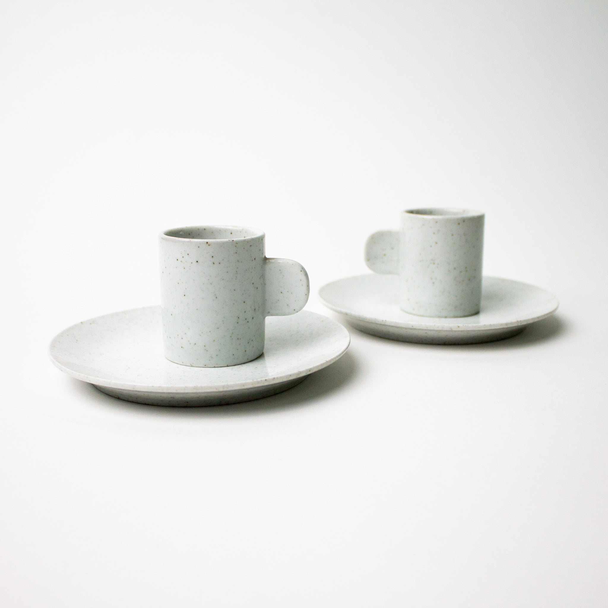 Set of two Kalina Espresso Cup and Saucer