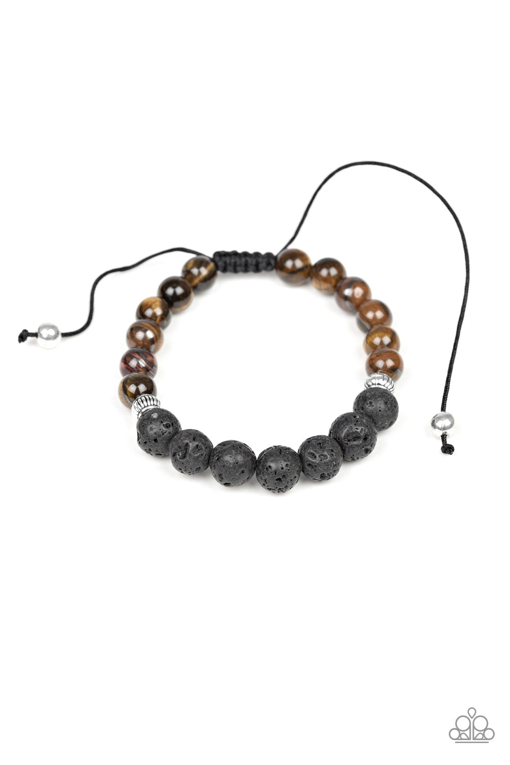 Relaxation Brown Bracelets Paparazzi Accessories - JewelTonez Jewelry
