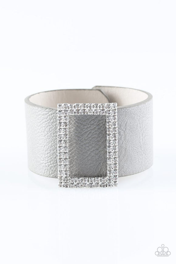 STUNNING For You - Silver Bracelets - Paparazzi Jewelry Bracelets Bracelet - Paparazzi Accessories