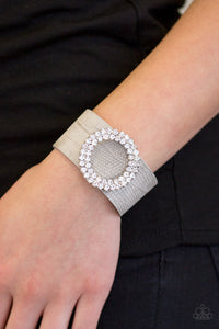 Ring In The Bling Silver Paparazzi Bracelet - JewelTonez Jewelry