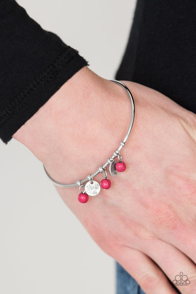 Totally Tahoe Pink Bracelets - Paparazzi - JewelTonez Jewelry