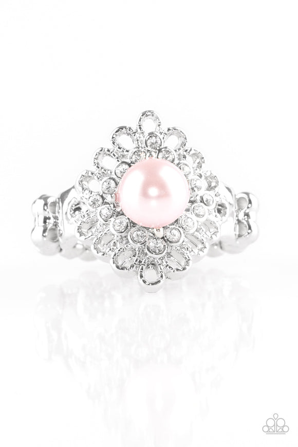Pink Perfectionist - Pink Ring - Paparazzi Jewelry Ring