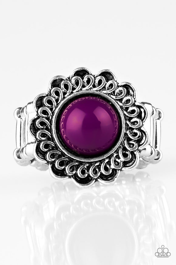 Paparazzi Garden Stroll - Purple Ring - Paparazzi Jewelry Ring