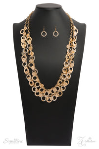 JewelTonez The Carolyn Gold Zi Collection - Paparazzi