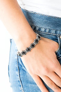 Strut Your Stuff Black Paparazzi Bracelet - JewelTonez Jewelry