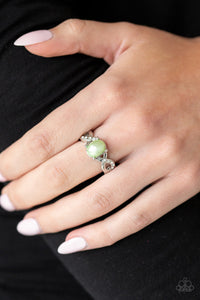 Limitless Luminosity Green Paparazzi Ring - JewelTonez Jewelry