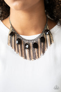 Vixen Conviction Multi Paparazzi Necklace - JewelTonez Jewelry
