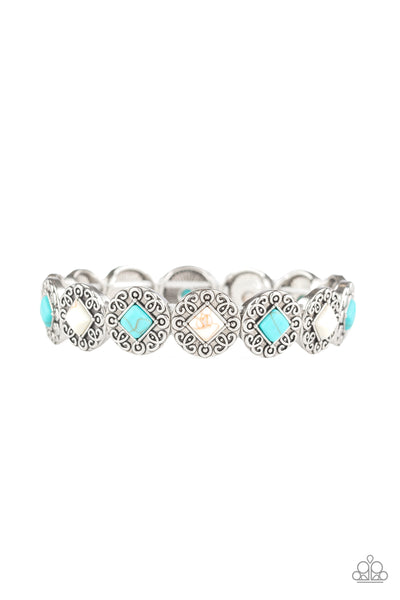 Desert Dilemma Multi Paparazzi Bracelet - JewelTonez Jewelry