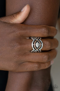 Divinely Deco Brown Paparazzi Ring - JewelTonez Jewelry
