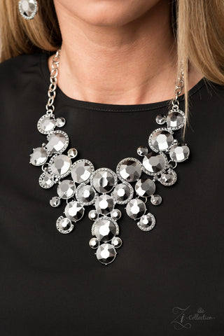 Fierce 2020 Paparazzi Zi Collection Gunmetal Necklace - JewelTonez Jewelry