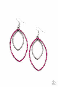 JewelTonez High Maintenance Pink Earring - Paparazzi