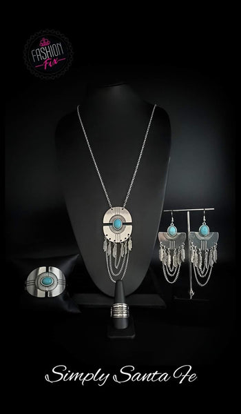 June 2020 Fashion Fix Simply Santa Fe Silver - JewelTonez Jewelry