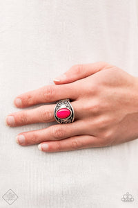 Let's Take It From The POP Pink Paparazzi Ring