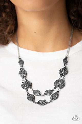 Make Yourself At Homestead Silver Necklace