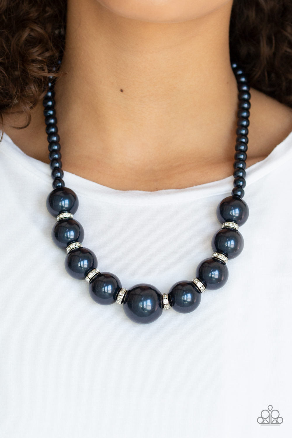 SoHo Socialite Blue Paparazzi Necklace - JewelTonez Jewelry