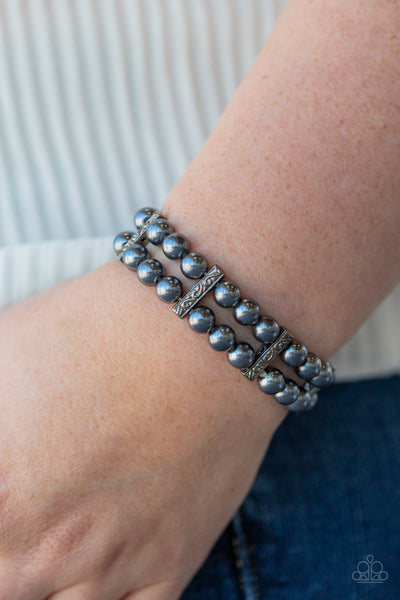 Modern Day Mariner Blue Paparazzi Bracelet - JewelTonez Jewelry