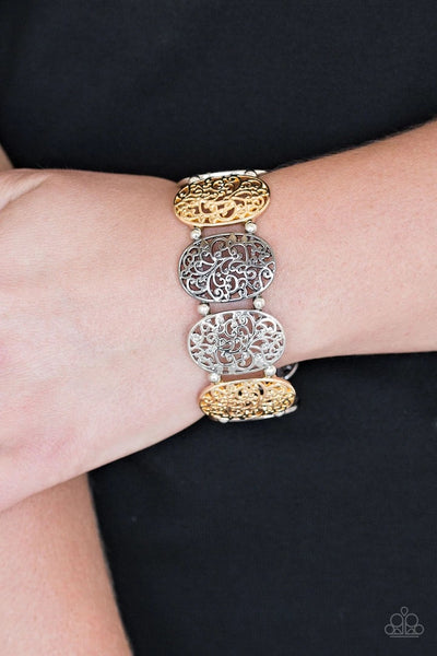 Everyday Elegance Multi Paparazzi Bracelet - JewelTonez Jewelry