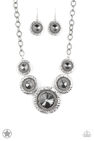 Global Glamour Silver Necklace - Paparazzi