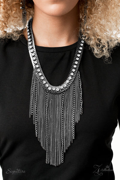 The Alex 2020 Zi Collection Gunmetal Necklace - JewelTonez Jewelry