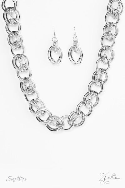 The Michelle 2017 Zi Collection Silver Necklace - JewelTonez Jewelry