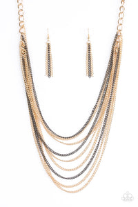 We Gonna Slay - Gold  - Paparazzi Jewelry