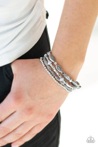 Full Of Wander Silver Bracelets Paparazzi - JewelTonez Jewelry