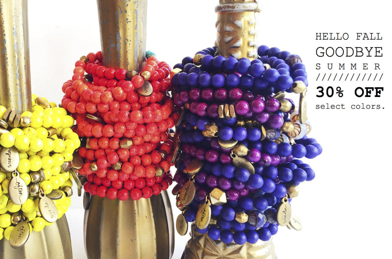 Online Sale // Beaded Bracelets