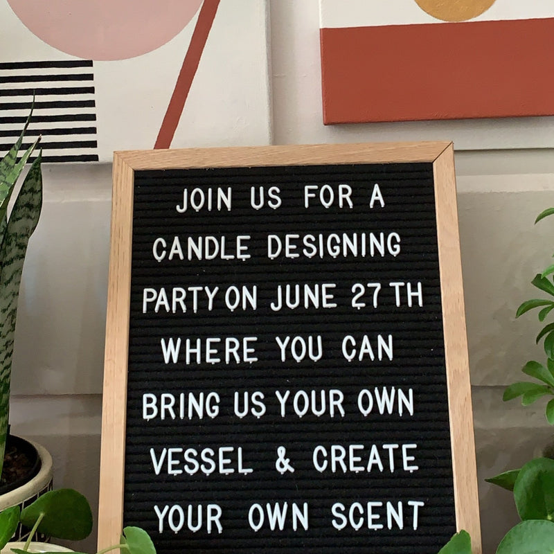 Candle Design Party SF >>> 6/27