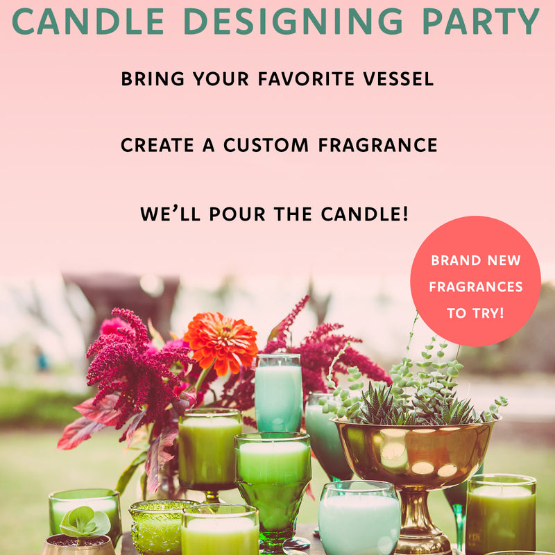 Candle Design Party SF >>> 5/30