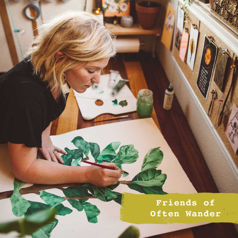 Friends of Often Wander >>> Rebecca Eichten