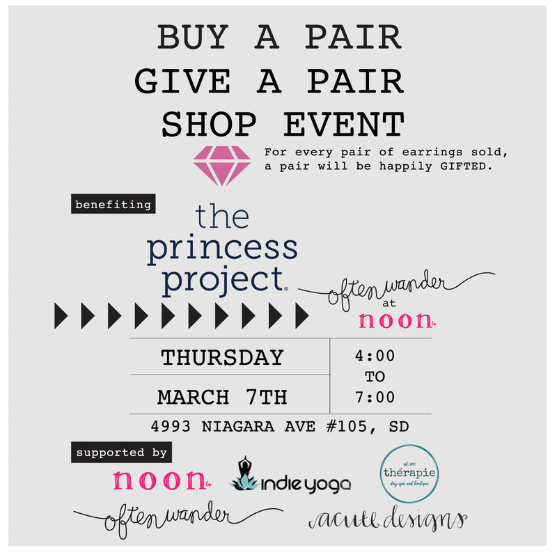 Buy A Pair, Give A Pair Shop Event