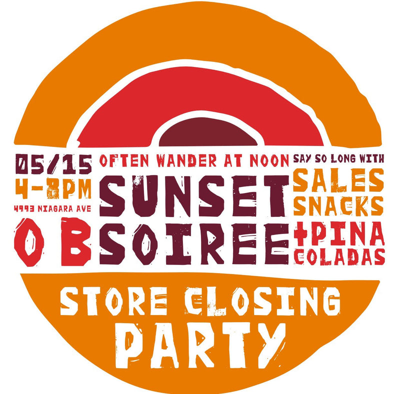 OB Sunset Soiree >>> 5/15