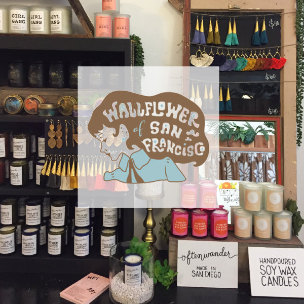 Wallflower SF >>> POP UP NOW THRU 9/31