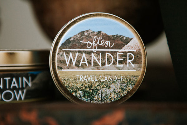 Wander Travel Candle - Mountain Meadow