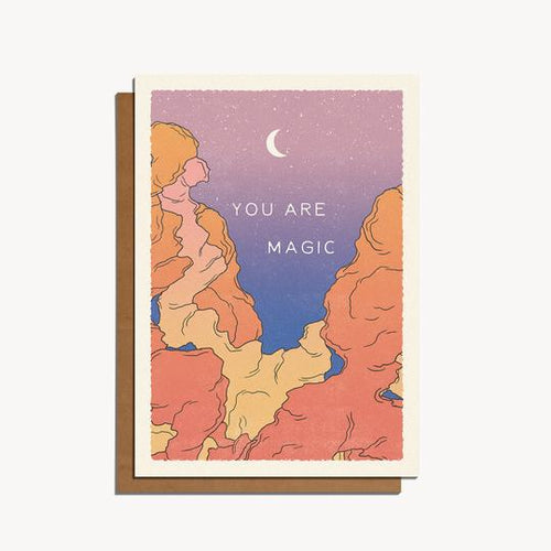 You Are Magic — Note Card — cai & jo