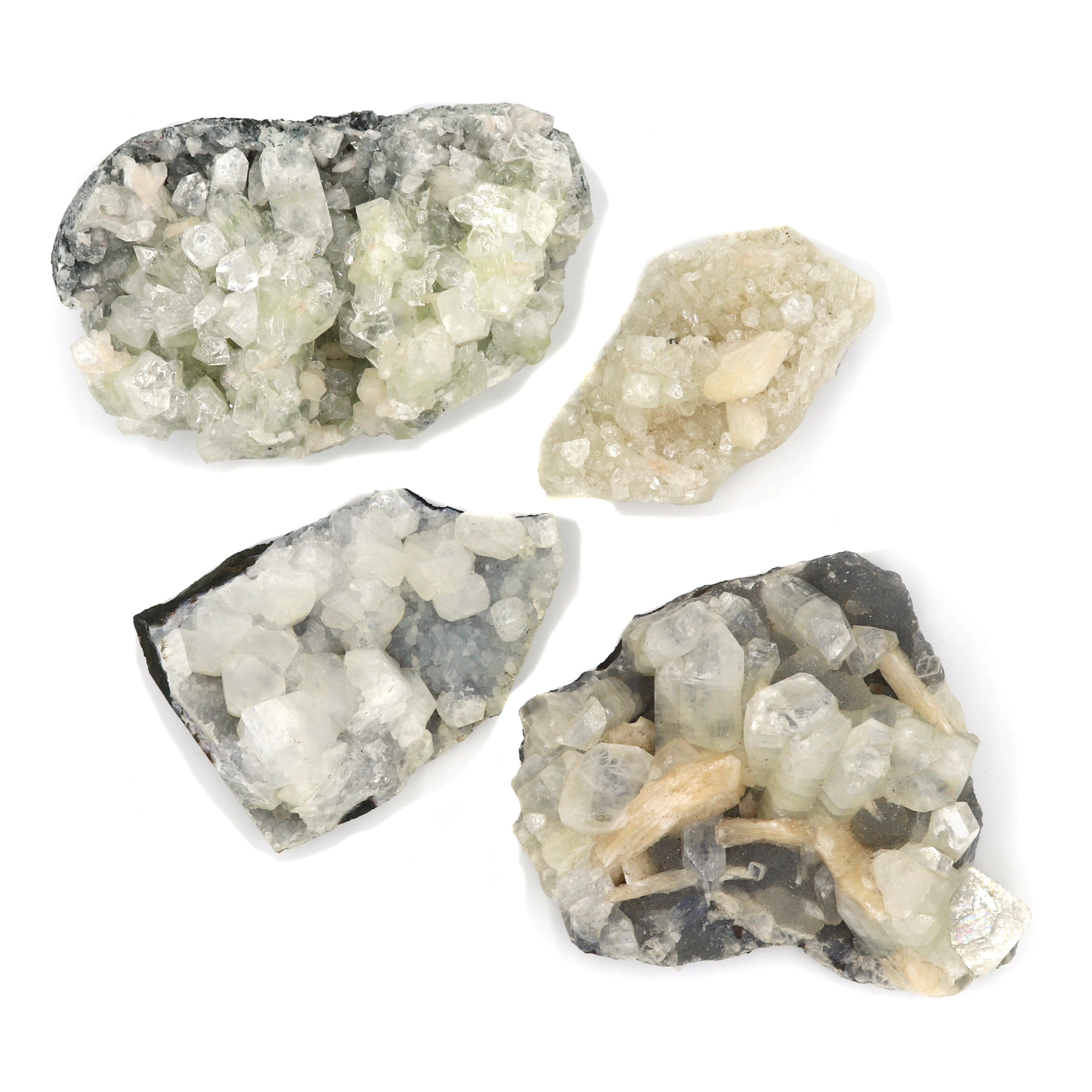 Apophyllite — Raw Clusters — Crystal