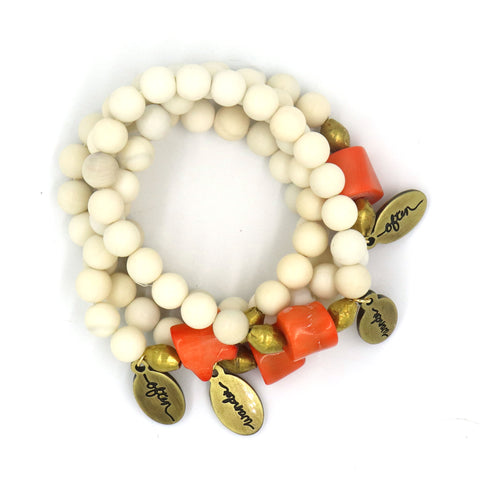 New Bead Size! Kiwi Jasper — Beaded Bracelet