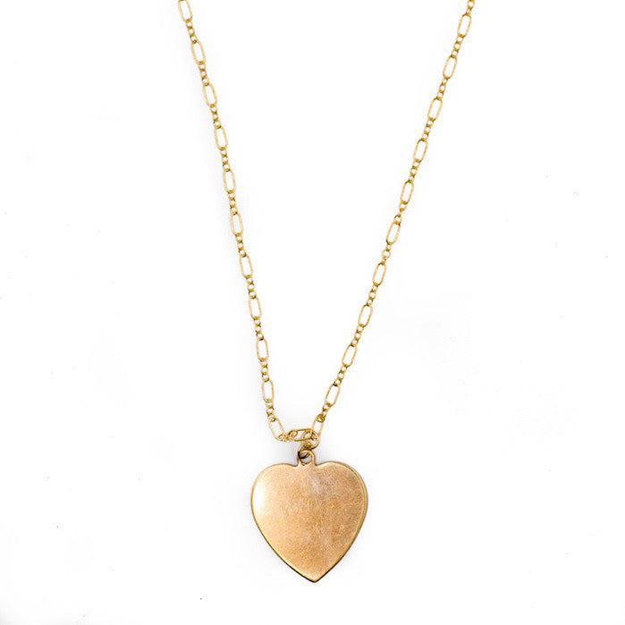 Necklace - Golden Heart