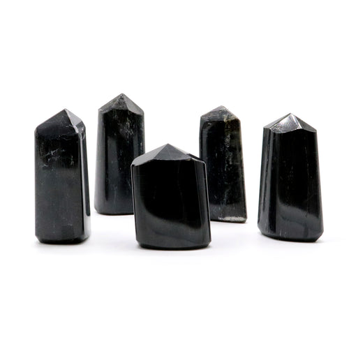 Black Tourmaline — Polished Points — Crystal