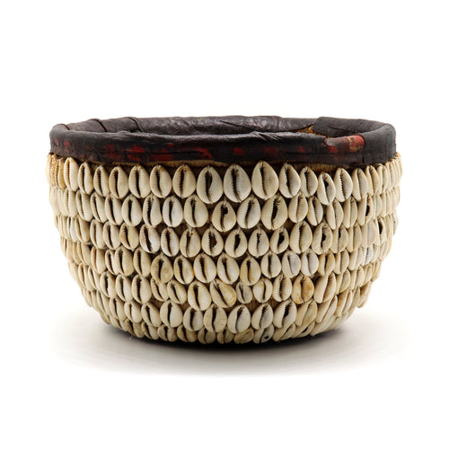Cowrie Shell Bowl — African Basket