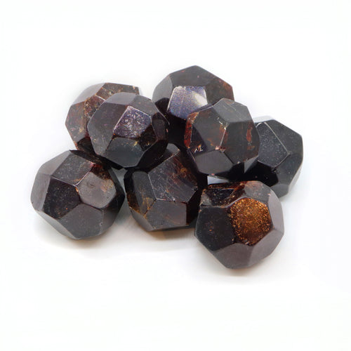 Garnet — Faceted Stones — Crystal
