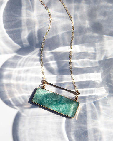 Necklace — High Line — Amazonite