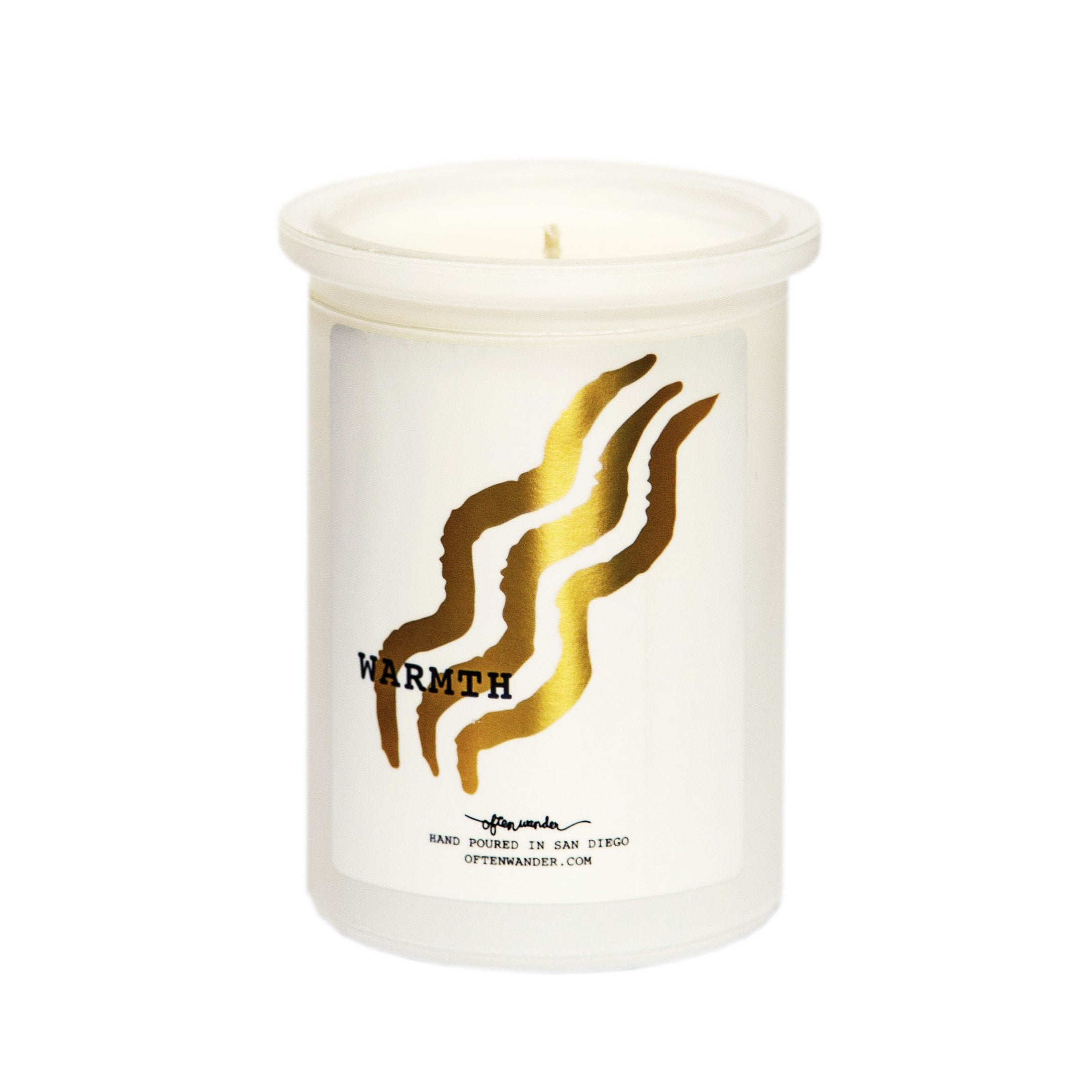 Sale! Warmth (Smoky) — Holiday Candle
